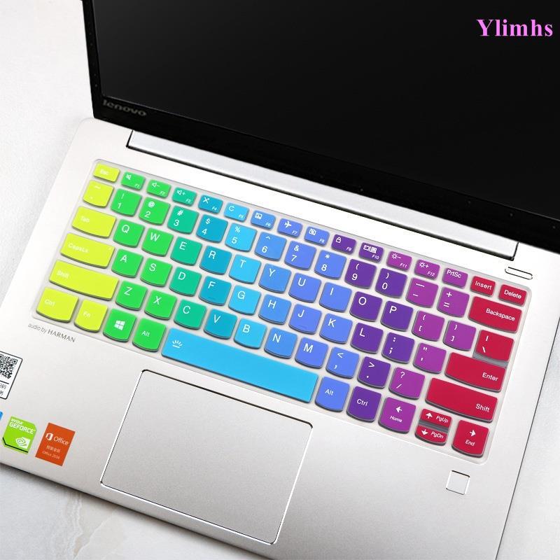Lenovo Ideapad Slim 1 Slim 3 Slim 7 14 英寸矽膠鍵盤蓋皮膚保護貼Ylimhs賣場