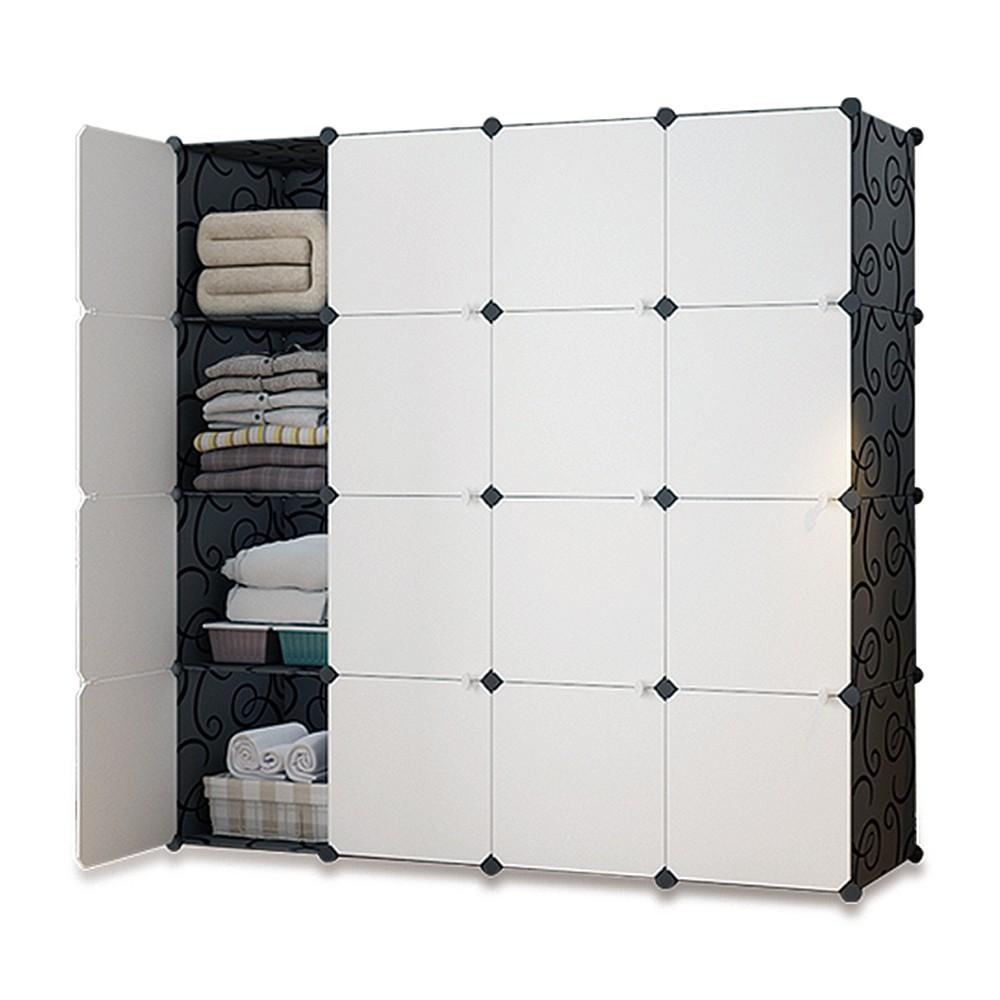 Mr.Box 加大型 16格 16門 收納櫃 置物櫃 書櫃 免運 廠商直送 現貨