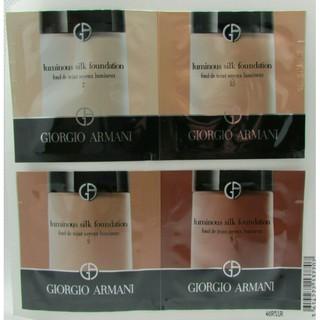 Giorgio Armani 輕透亮絲光粉底液 luminous silk foundation 試用裝 台中市
