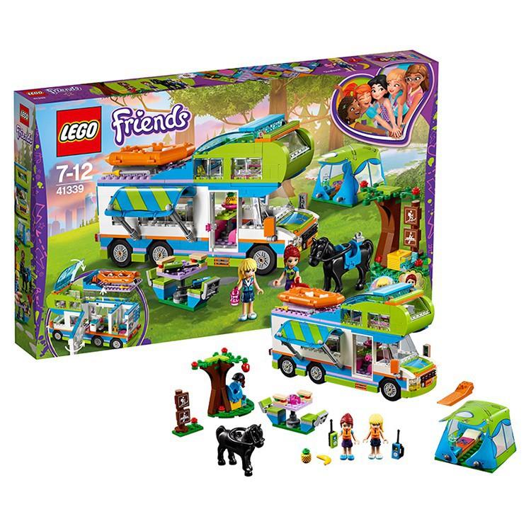 ▣❣⊙【宋】樂高好朋友系列41339米婭的野營車 LEGO Friends兒童女孩積木玩具
