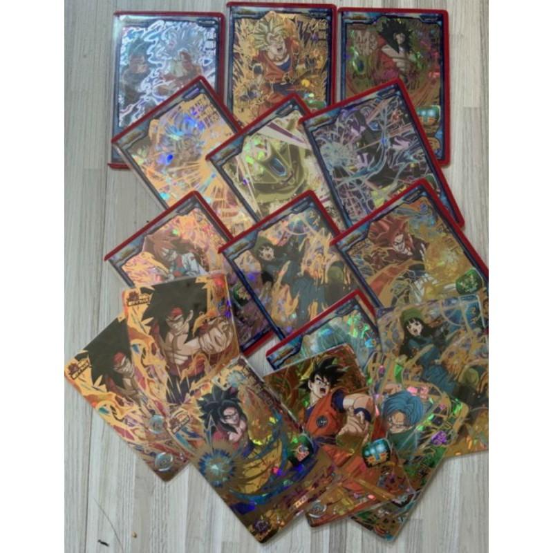 (買5送1)七龍珠福袋機台卡.02彈.場測卡.活動卡.自在極易.必中cp卡
