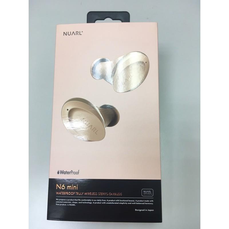 [二手]NUARL N6 mini 真無線藍牙耳機/金縷