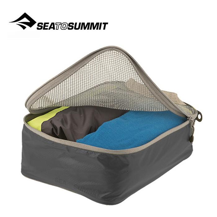 【Sea To Summit 澳洲】旅行打理包 衣物打理包 S號 黑/淺灰 (ATLGMBS)