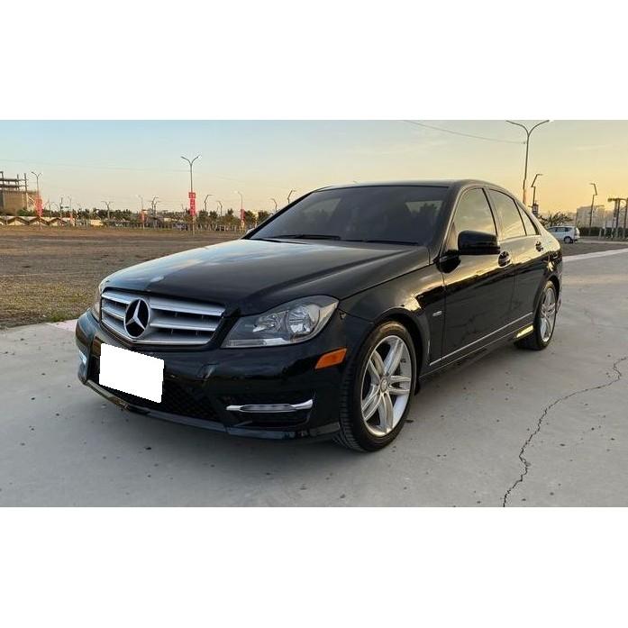 賓士-2012年-C250-1800CC-黑