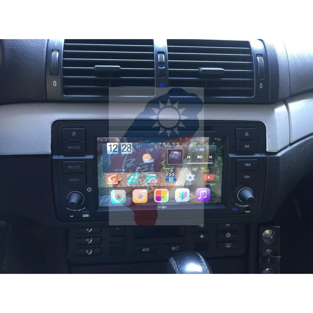 寶馬 BMW E46 318i 320i 330i Android四核安卓版觸控螢幕主機 導航/USB/DVD