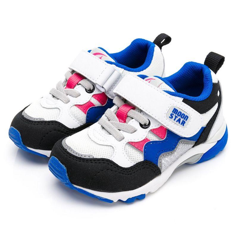 【轉售20號】Moonstar 日本月星童鞋 矯正鞋 足弓鞋墊 男童HI系列機能鞋 跑步鞋 運動鞋