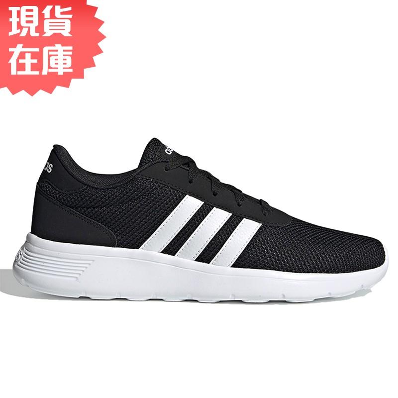 Adidas LITE RACER 男鞋 慢跑 休閒 輕量 透氣 黑【運動世界】EH1323【現貨】