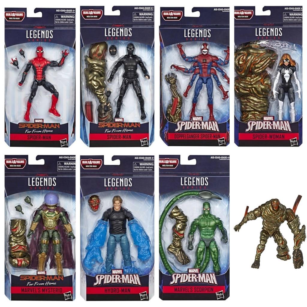 全新現貨 Marvel Legends 漫威 蜘蛛人 離家日 非 返校日 終局之戰 全套7+1隻 超取付款免訂金