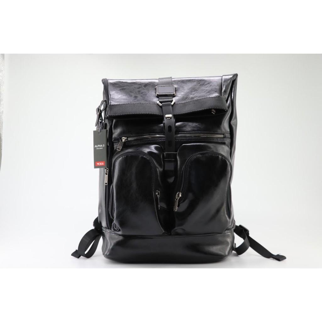 【包の范特西】 TUMI (途米) 92388HK2 真皮男士大號旅行雙肩背包 可插拉桿箱 休閒商務後背包 肩背手提包
