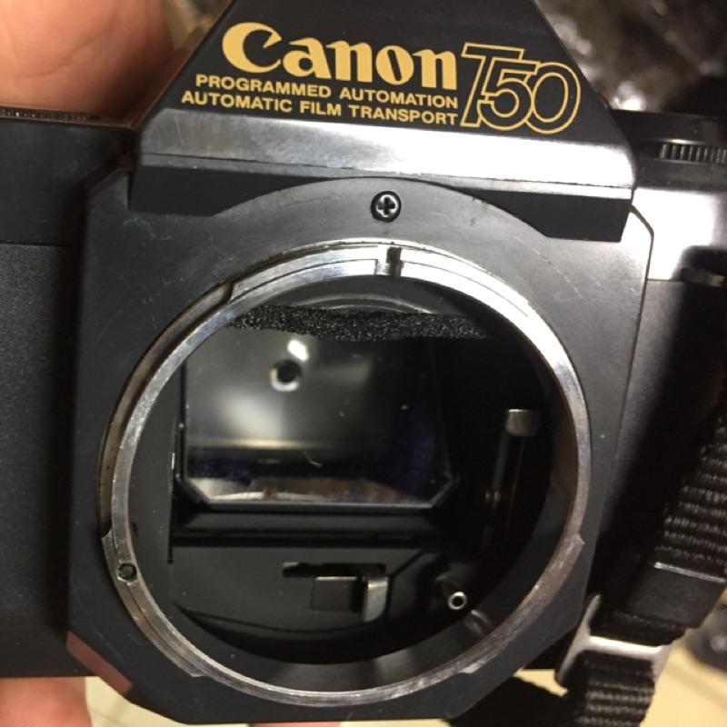 底片 單眼相機 canon t50 fd