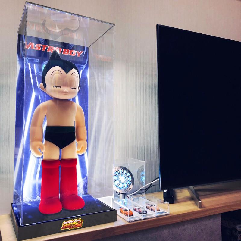 樂高 阿童木亞克力展示盒ZCWO ASTRO BOY ATOM PROJECT 娃娃模型玩偶罩