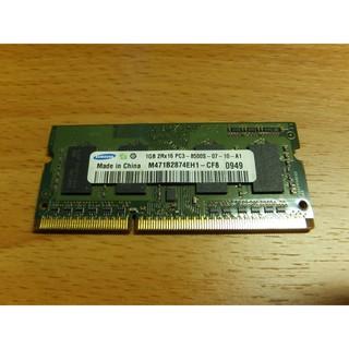 良品 ~ SAMSUNG 三星 1GB DDR3-1066 /  PC3-8500 1.5V SO-DIMM 新北市