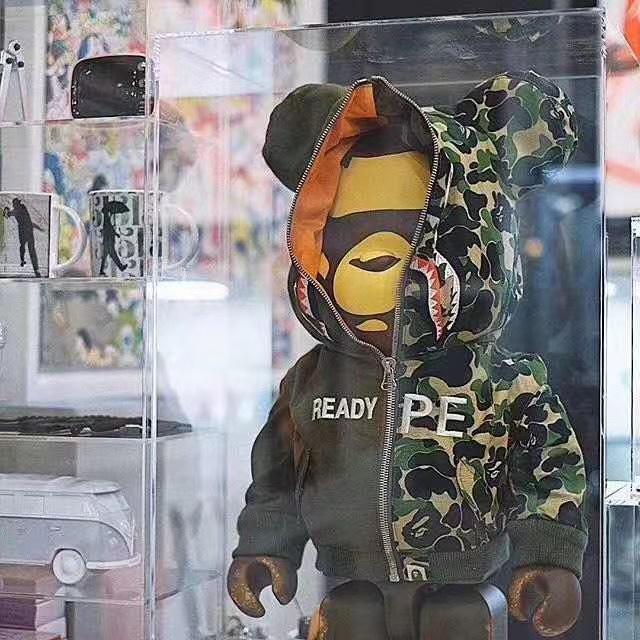 😈公仔😈Be@rbrick1000%暴力熊 Ape熊王超限量款 潮牌公仔 積木熊 潮店裝飾擺件🐼熊