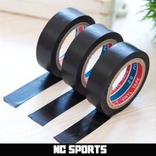 黑色變壓器電線絕緣自粘膠帶阻燃塑料膠帶電工PVC防水膠帶羽毛球木柄基礎膠帶