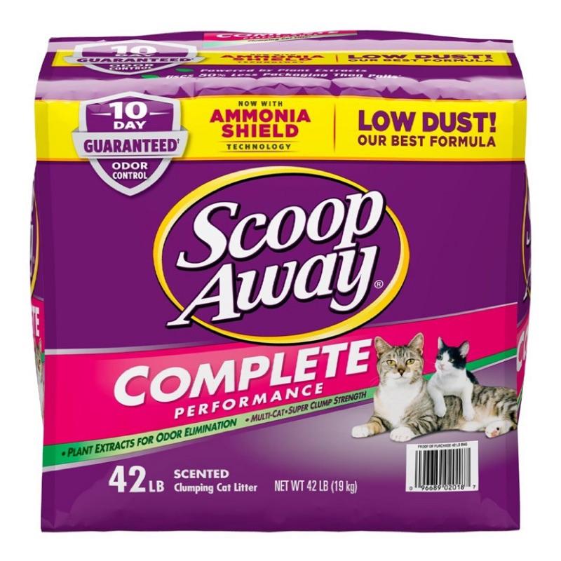 Scoop Away 超凝結貓砂 紫包 19公斤 好市多costco 代購 面交