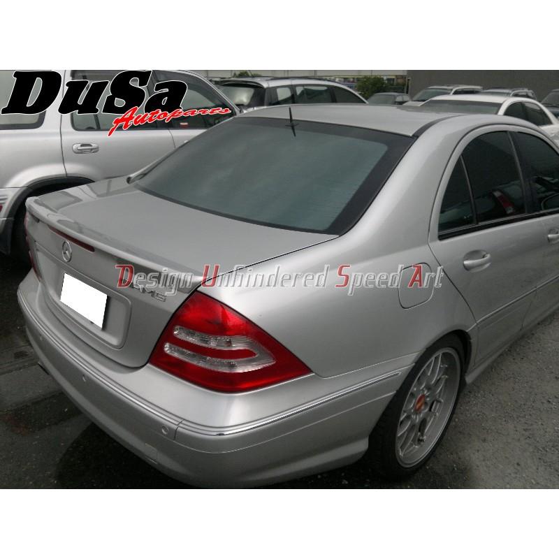 《DUSA》賓士BENZ W203 C系列 類Carlsson款 後擾流 尾翼 全新ABS素材 未烤漆 C280