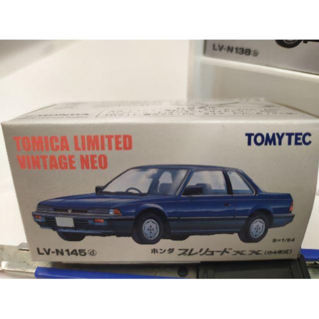 TOMYTEC Tomica LV-N145d Prelude XX 藍