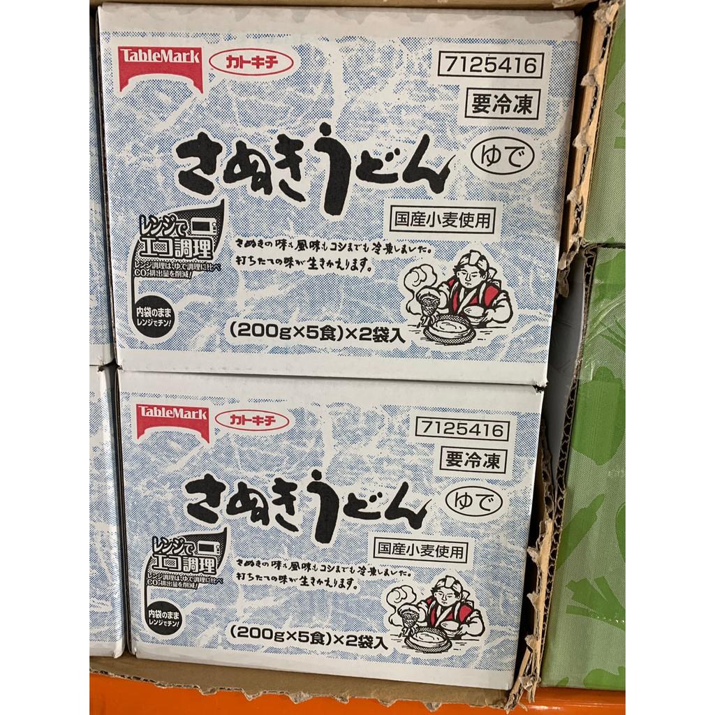 台中市 好市多 24H及時送 (開發票統編) 日本讚岐 冷凍烏龍麵 烏龍麵 200公克 X 10袋