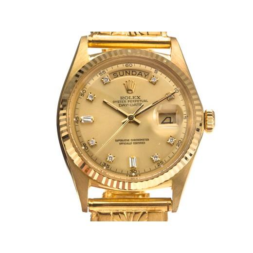 Rolex-mens 勞力士1803蠔式恒動星期日誌18K金男用腕錶