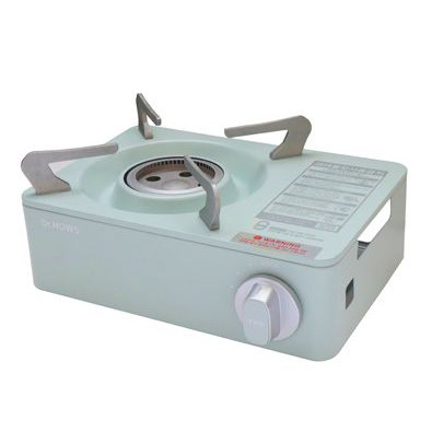 【綠樹蛙戶外】 韓國品牌Dr. HOWS馬卡龍爐迷你爐 薄荷綠 卡式 瓦斯爐 2.0kw 露營瓦斯爐戶外爐具