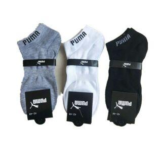 【特價1雙 25元】 Adidas襪子批發 】PUMA 彪馬 Adidas三葉草潮流 男生船襪 襪子 短襪 長襪 中筒襪