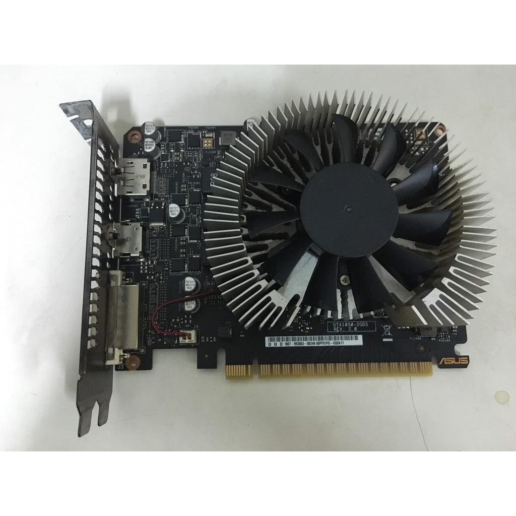 27@華碩 ASUS GTX1050-2GD5 (PF) FOR GS DDR5 2G顯示卡<二手良品>