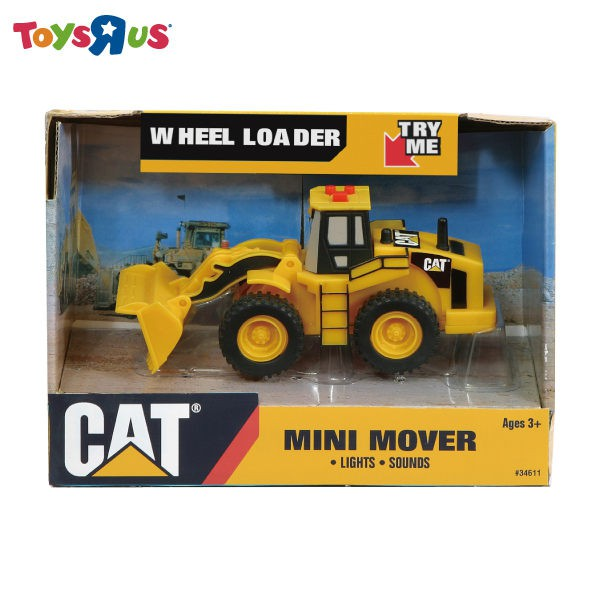 CAT 5吋聲光工程車-推土機