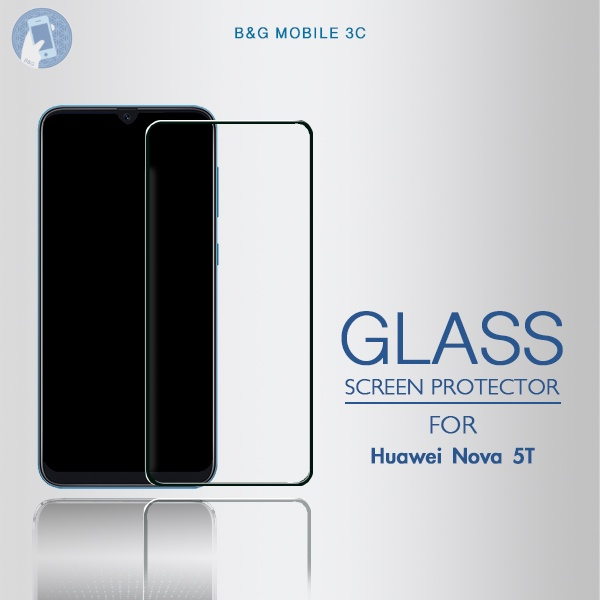 For Huawei Nova 5T Screen Protector Tempered Glass
