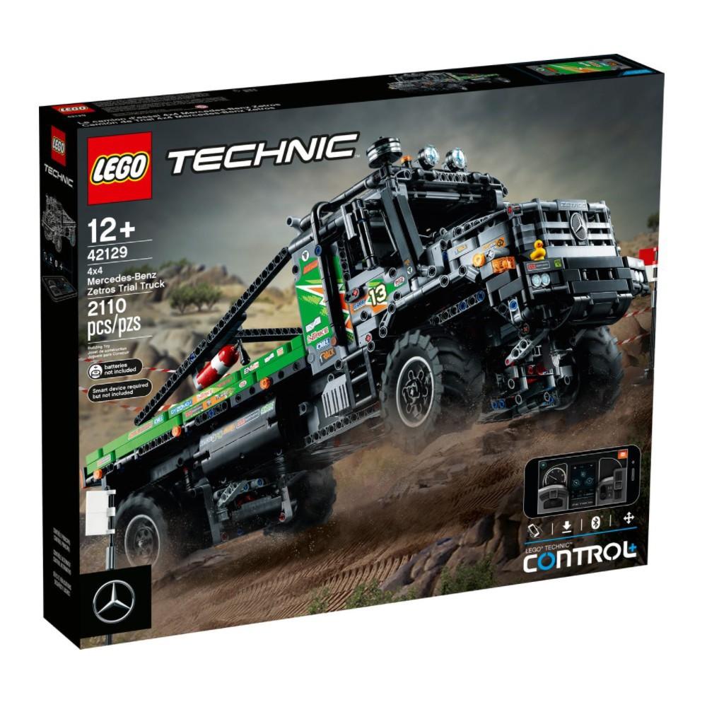 樂高LEGO TECHNIC動力科技系列 4x4賓士Zetros卡車 42129