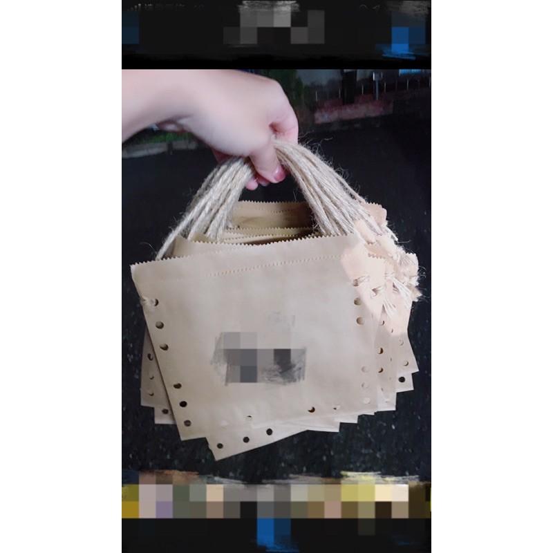 手提環保紙袋/手工雞蛋糕紙袋/紅豆餅紙袋/空白牛皮紙袋/843空白紙袋