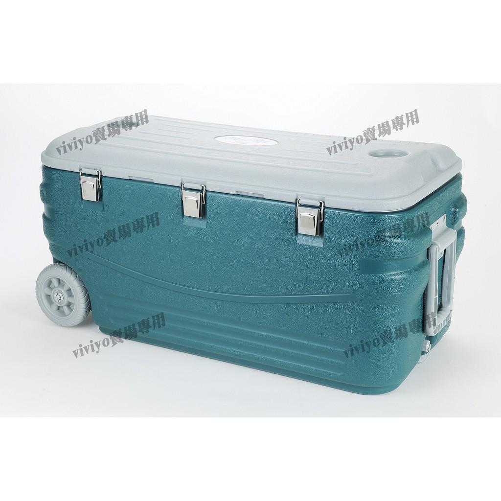 保冷王-100公升冰桶(COOL LINER 100L釣魚露營野餐用冰箱-現貨)