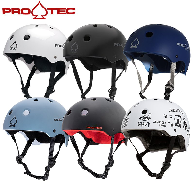 美國PRO-TEC兒童成人滑板輪滑頭盔男女滑雪滑冰平衡單車BMX安全帽