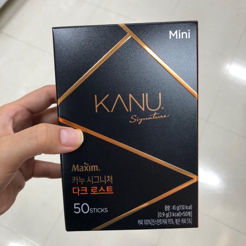 《韓國代購》KANU 升級版 signature黑咖啡 美式 50入