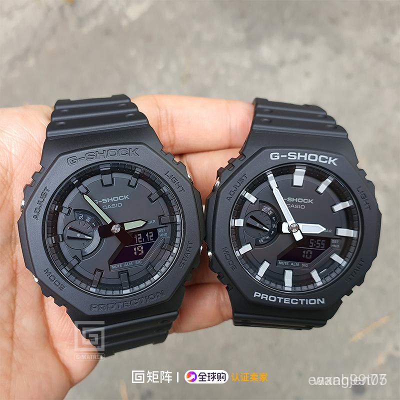 jYTW 2019新款卡西歐碳纖維八角形gshock防水運動手錶男ga-2100-1A1/4A