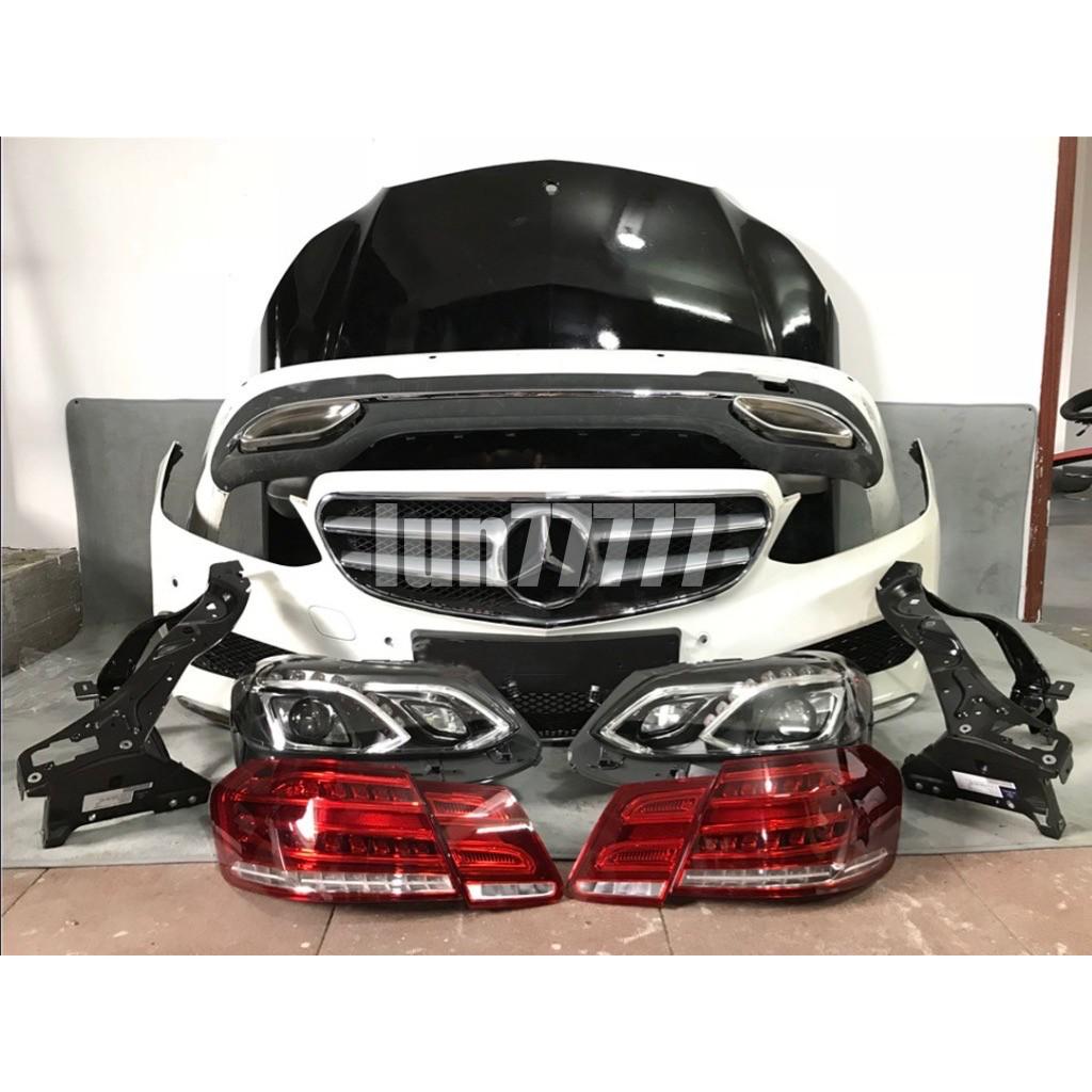 BENZ E200 E250 E300 E350 2009+ 新款全車改裝 AMG套件/大燈/尾燈 W212 副廠 賓士