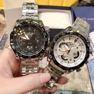 CASIO卡西歐手錶 時尚三眼六針計時爵士石英腕錶 男款鋼帶手錶 新款6針EFR539系列多功能男表 戶外防水夜光手錶 高雄市