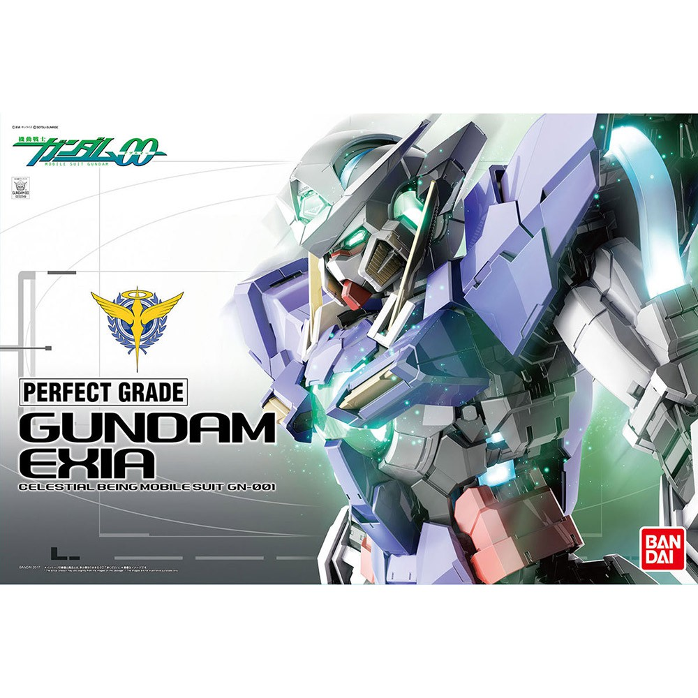 【BANDAI】PG 1/60 機動戰士鋼彈00 GUNDAM EXIA GN-00 能天使鋼彈