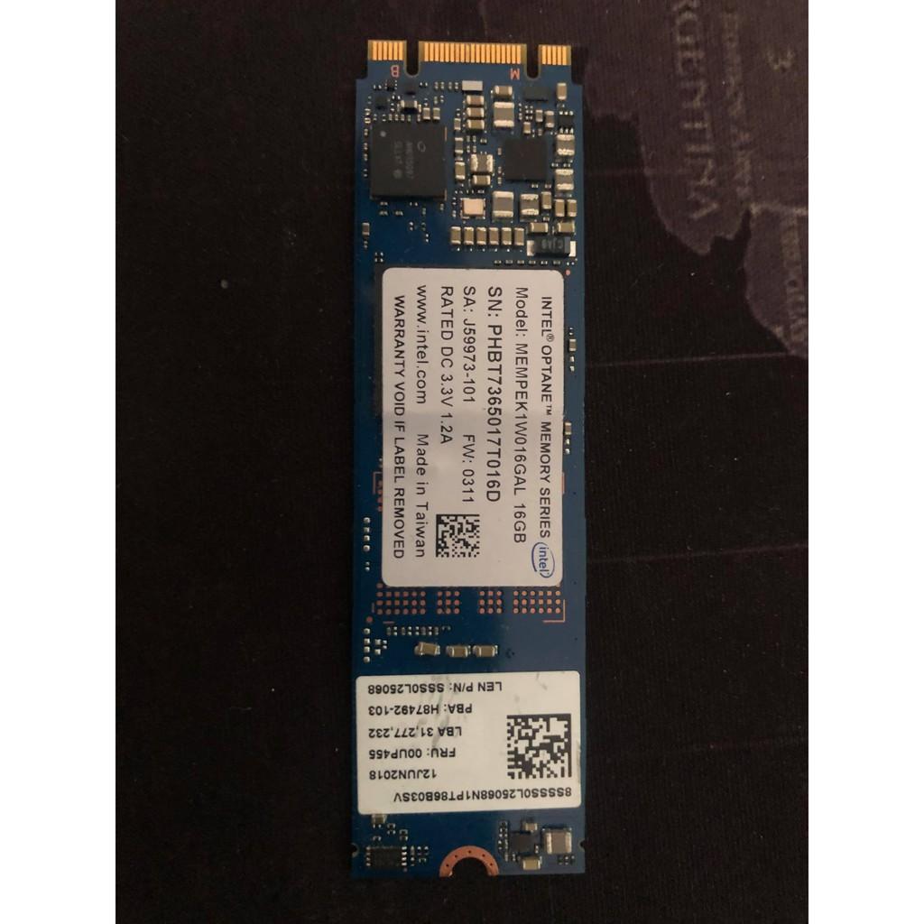 Optane™ Memory 16G 硬碟加速器 二手