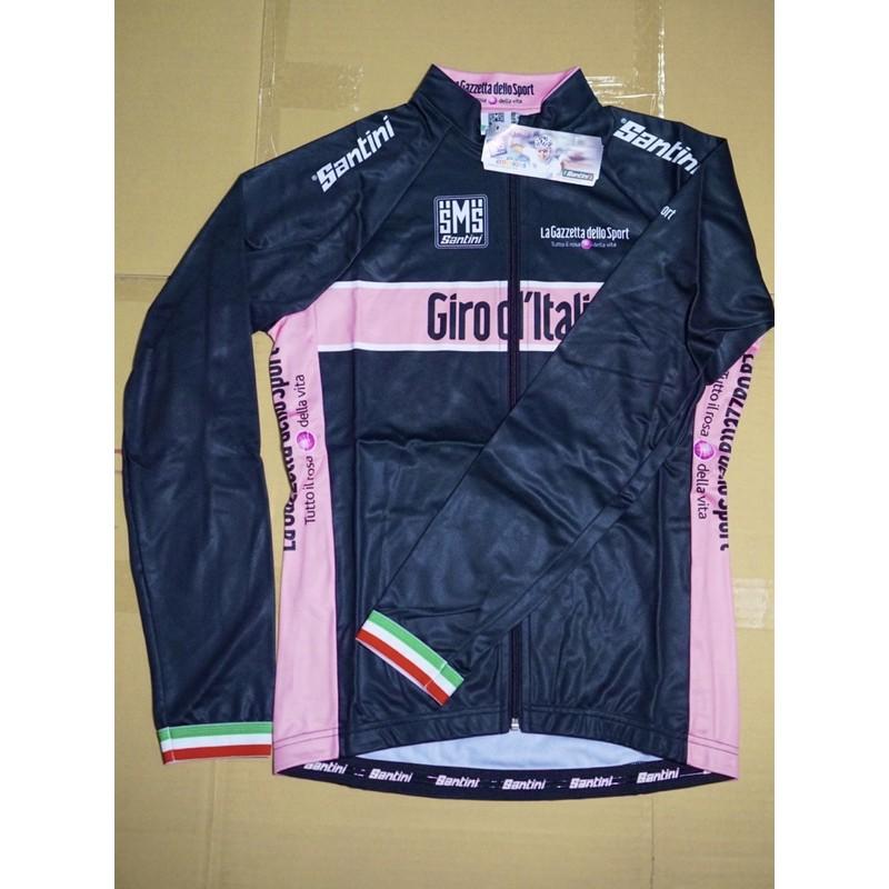 SANTINI Giro d'Italia 長袖刷毛車衣
