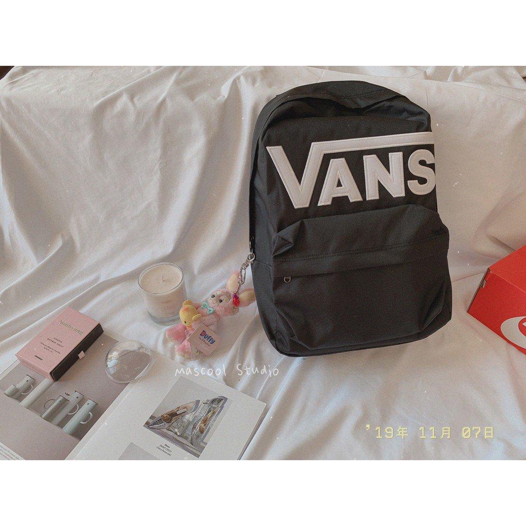 【MasCool】 Vans Old Skool  Backpack  後背包 黑 WSQU