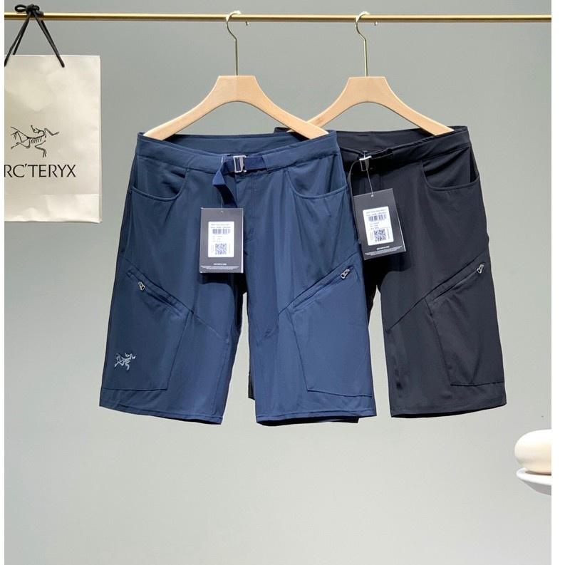 2021年新款 Arcteryx Incendo Long 始祖鳥男款速乾 運動短褲 男士休閒五分褲 男士短褲