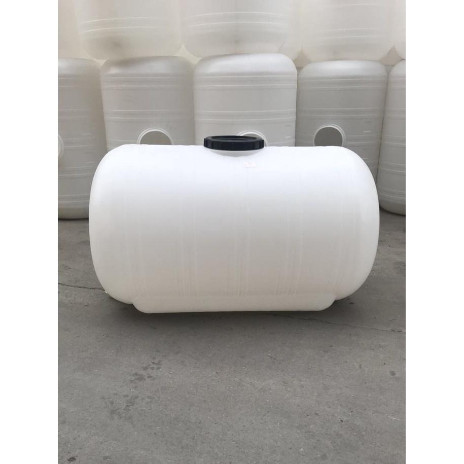 1噸塑膠大桶塑膠水塔臥式大桶2000斤塑膠桶儲水桶太陽能儲水罐