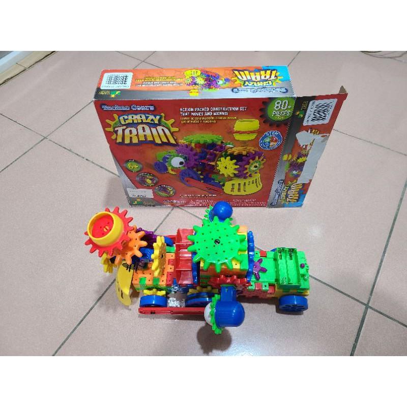 costco 3D建構玩具火車