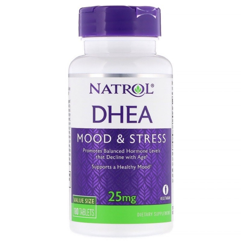 [現貨] Natrol DHEA 25mg 180顆/300顆