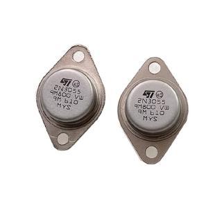 2N3055 大功率金封三極管 鐵帽TO-3 點火器/ 電晶體 XDL