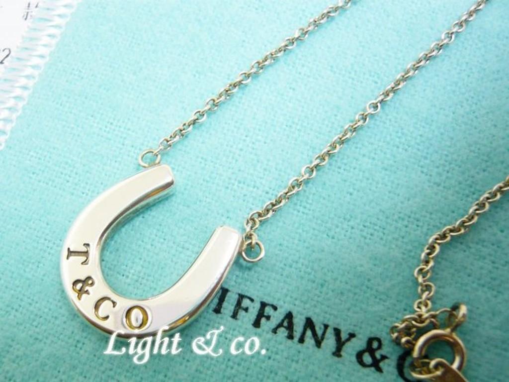 【Light & co.】專櫃真品已送洗 TIFFANY  925 純銀 馬蹄 項鍊 經典款 horeseshoe