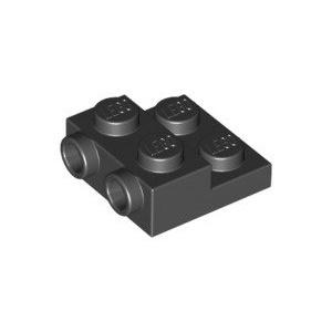 ❤️LEGO樂高配件 99206 6052126 2x2x2/3特殊板 黑色色 全新