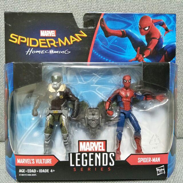 [bm] Marvel legends 漫威 孩之寶 3.75吋 蜘蛛人 返校日 禿鷹 vulture 雙人包○