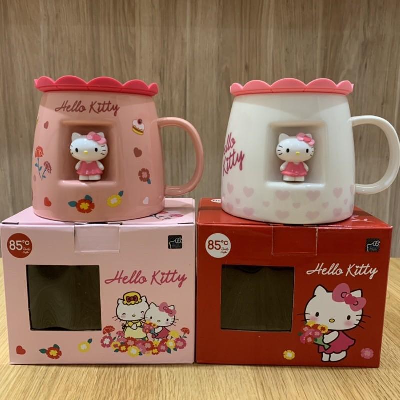 85度c X Hello Kitty 造型馬克杯【粉紅媽咪款/白色獨家獻禮款】