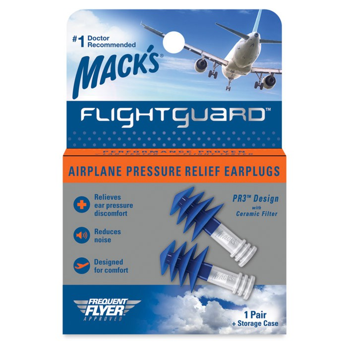 【附發票】美國 Mack's 飛行耳塞 飛機耳塞 避免耳痛